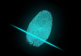 Customer registration and payment system with fingerprint identification