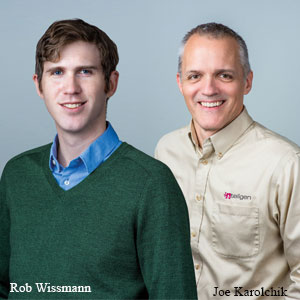 Rob Wissmann, Lead Architect and Joe Karolchik, President, Nteligen