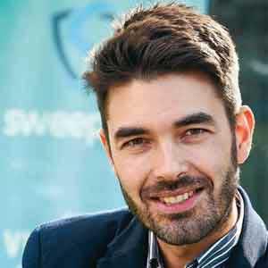Stijn Vande Casteele, Founder & CEO, Sweepatic