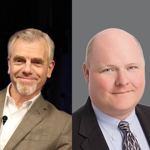 JP Laqueur, SVP of Marketing and Mark Houpt, CISO, DataBank