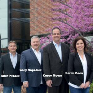 Mike Hrabik, CEO,  Gary Napotnik, Senior VP of Sales and Marketing, SecureSky
