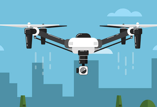 Drones are the Major Threat for Enterprise Security