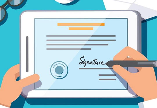 How Can Enterprises Use e-Signatures?