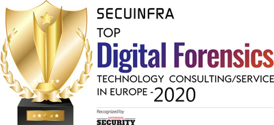 Top 10 Digital Forensics Technology Consulting/Service in Europe - 2020