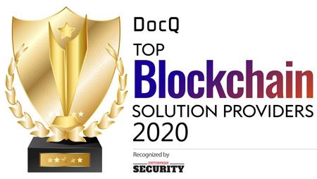 Top 10 Blockchain Solution Companies - 2020